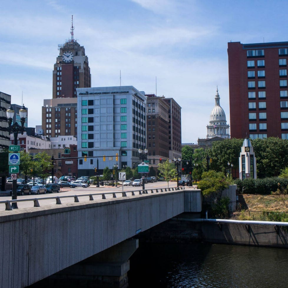 East Lansing Downtown View